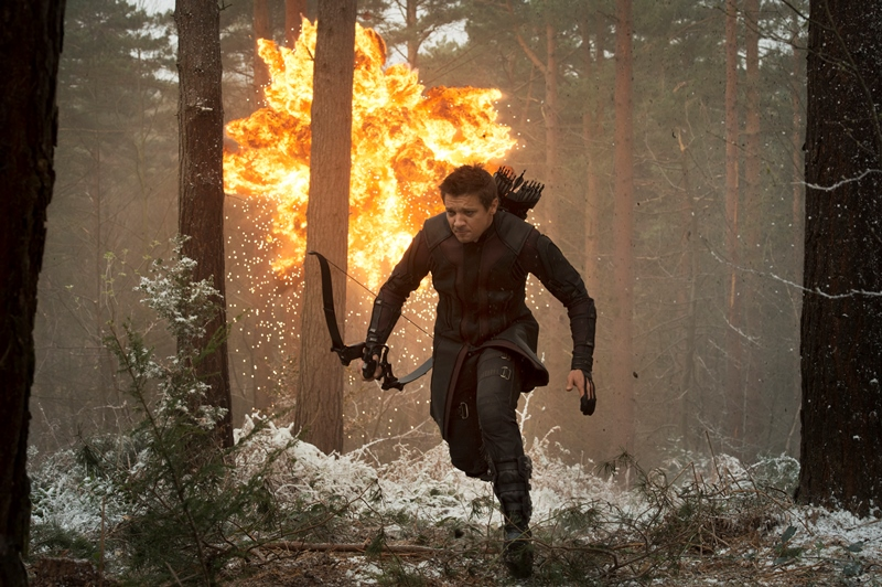 Vingadores: Era de Ultron: Jeremy Renner mais uma vez no papel do Gavião Arqueiro