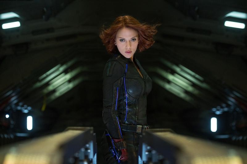 Vingadores: Era de Ultron: Scarlett Johansson como a Viúva Negra