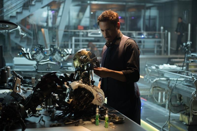 Vingadores: Era de Ultron: Robert Downey Jr., no papel de Tony Stark