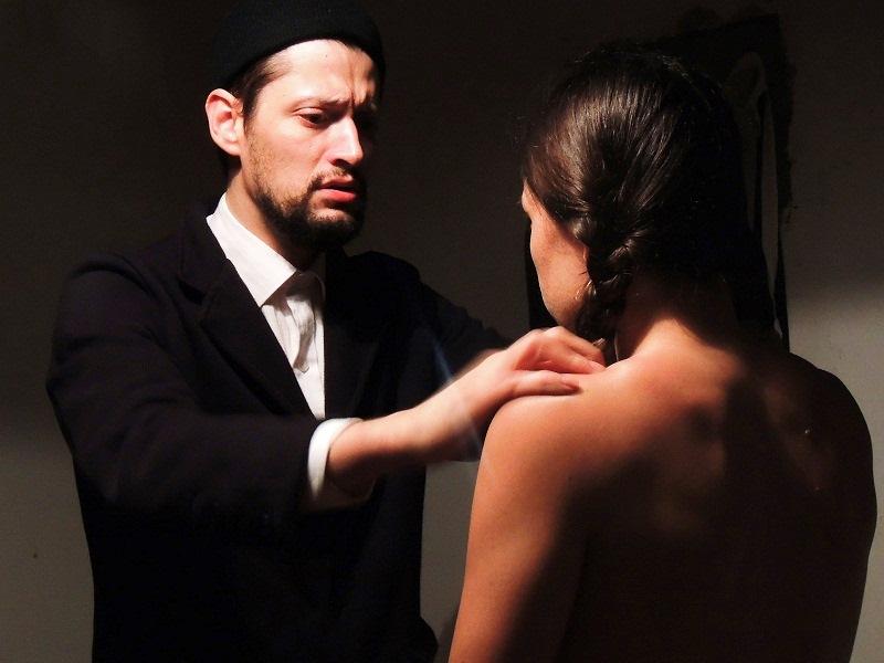 Tchekhovianas I: os atores Rodrigo Melgaço e Fernanda Cunha