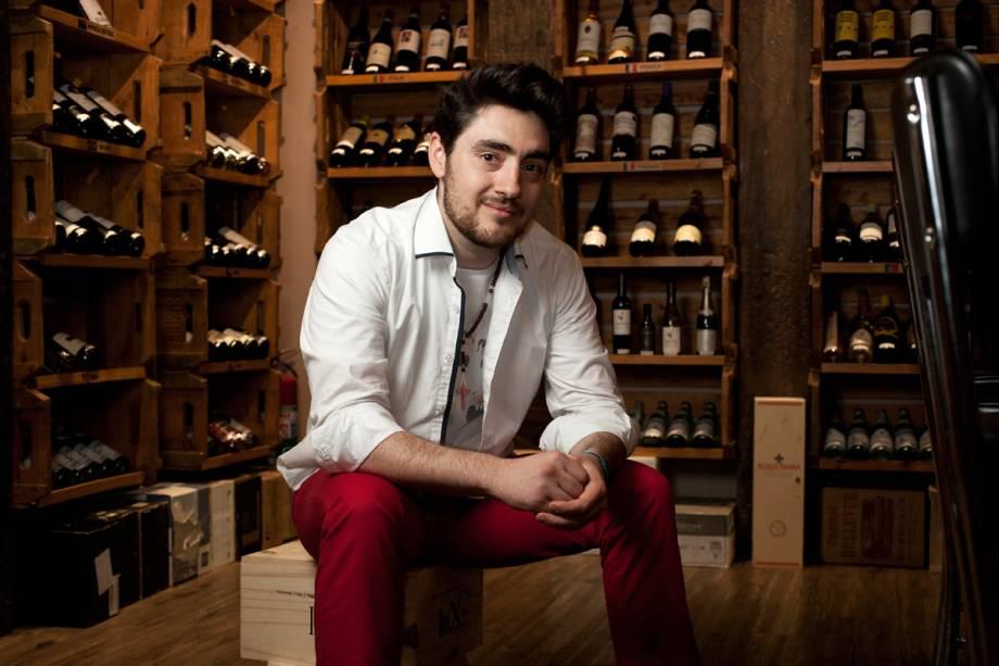 O chef Patrick Bragato