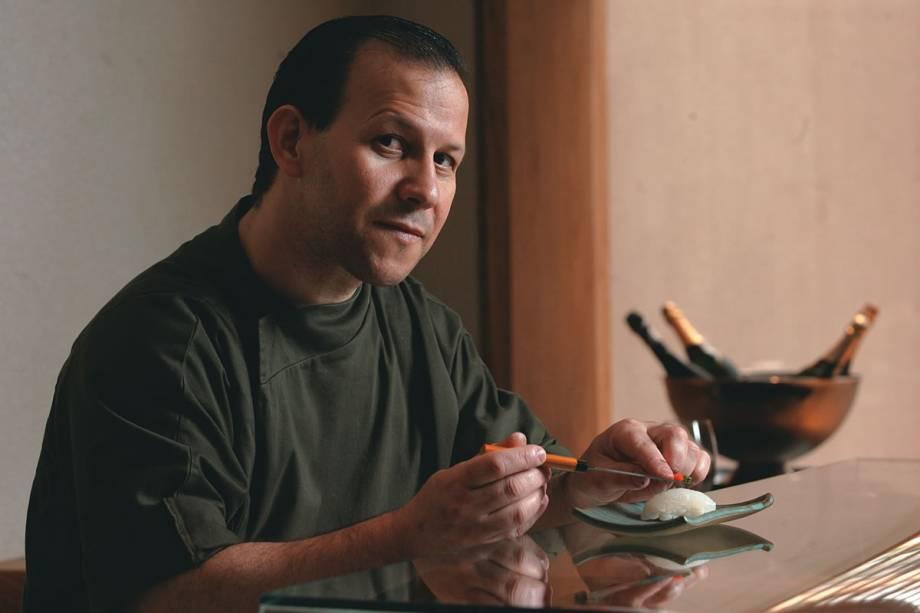 Pereira: muito à vontade como chef e proprietário