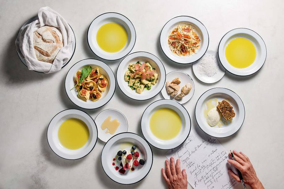 Degustação de azeite brasileiros: durante todo o mês de junho, a chef Ana Soares cria uma receita com azeites de pequenos produtores