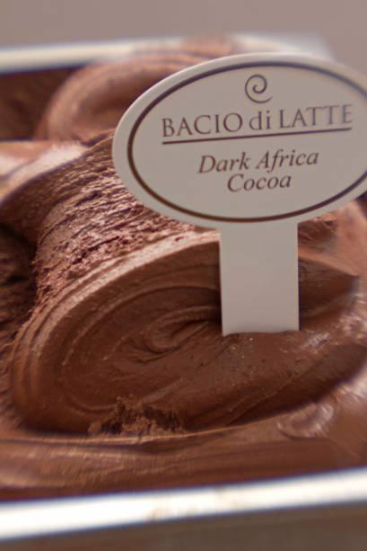 Festival do cacau africano: sete variedades de sorvete