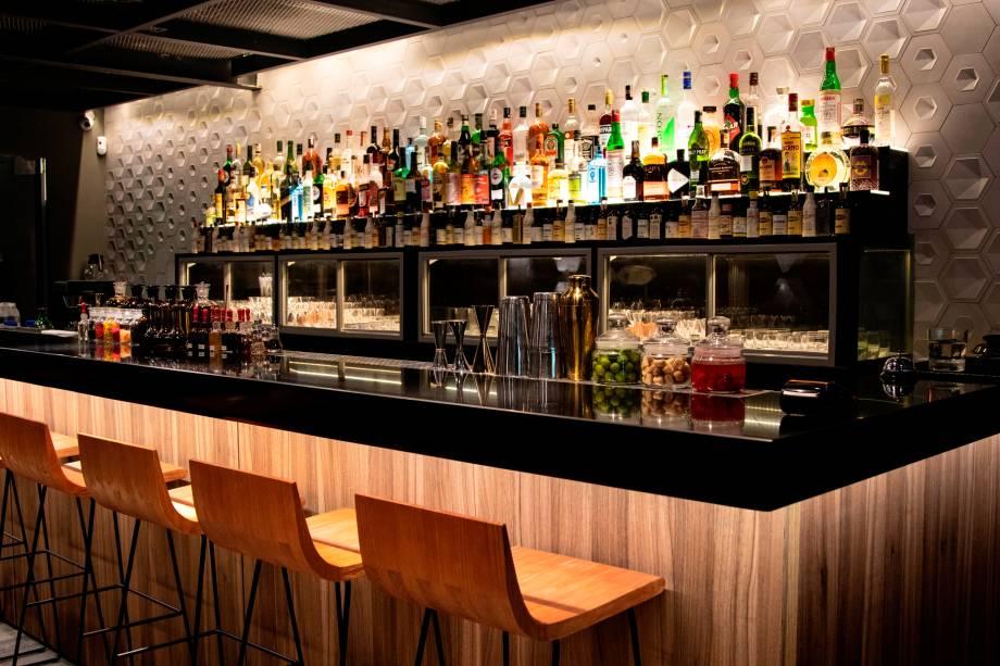 Novo balcão: bar em evidência