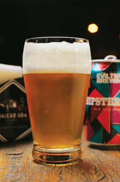 A cerveja Evil Twin Hipster Ale