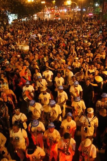 Banda Redonda anima os foliões no CCBB Abre Alas