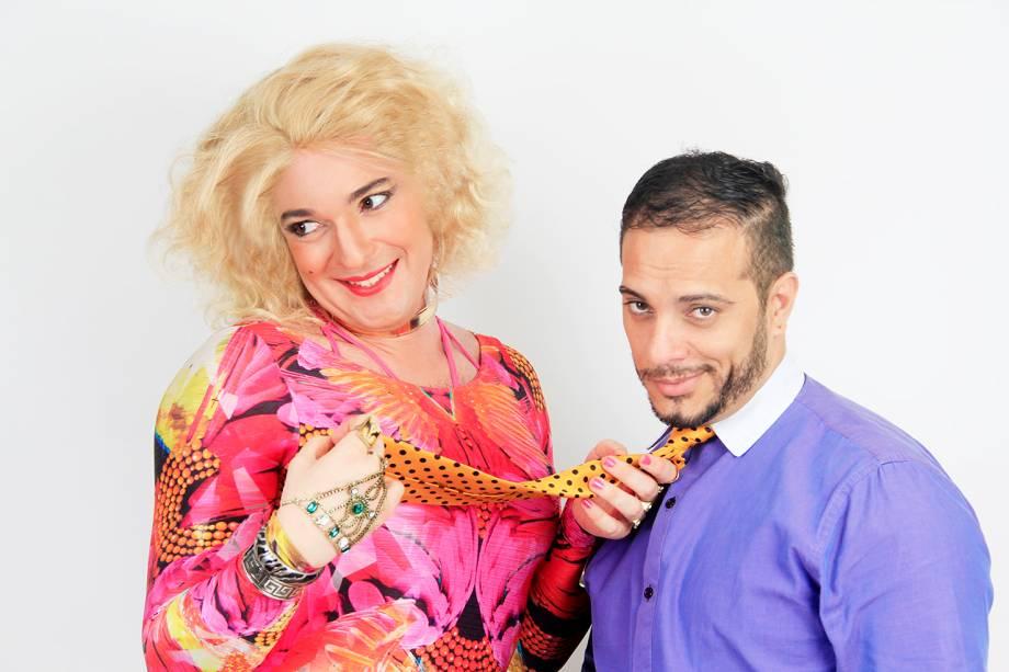 Ailton Guedes e Rodrigo Nascimento: uma amante do babado