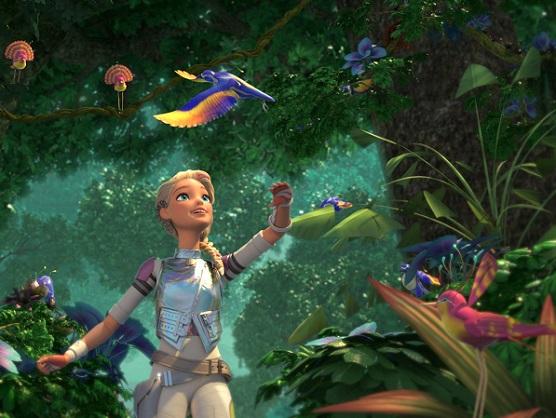 Barbie viaja até o Planeta Capital a fim de salvar as estrelas