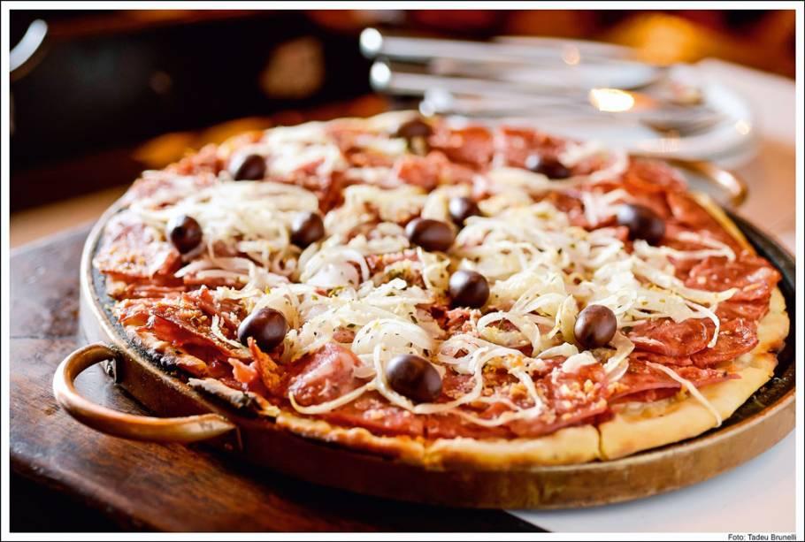 Pizza de calabresa: novidade
