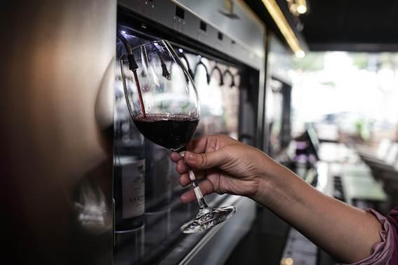 Bardega: para provar diferentes vinhos