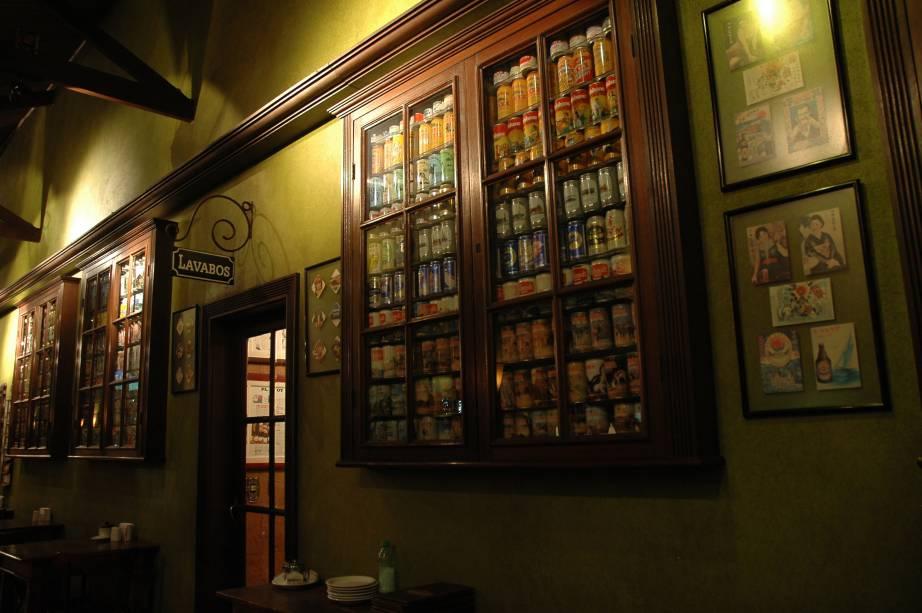 Interior do Bar do Nico, no bairro do Ipiranga