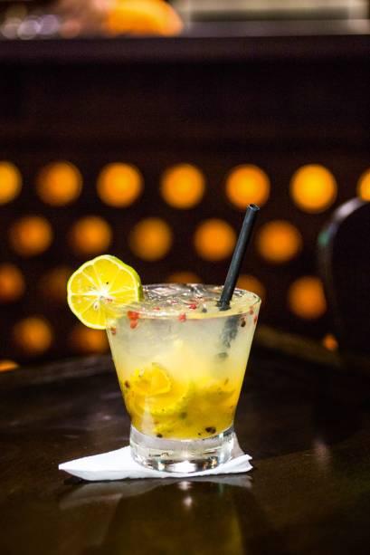 A caipirinha de limão-cravo