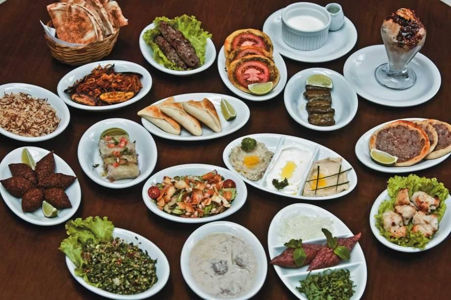 Baruk: Seleção de pratos libaneses