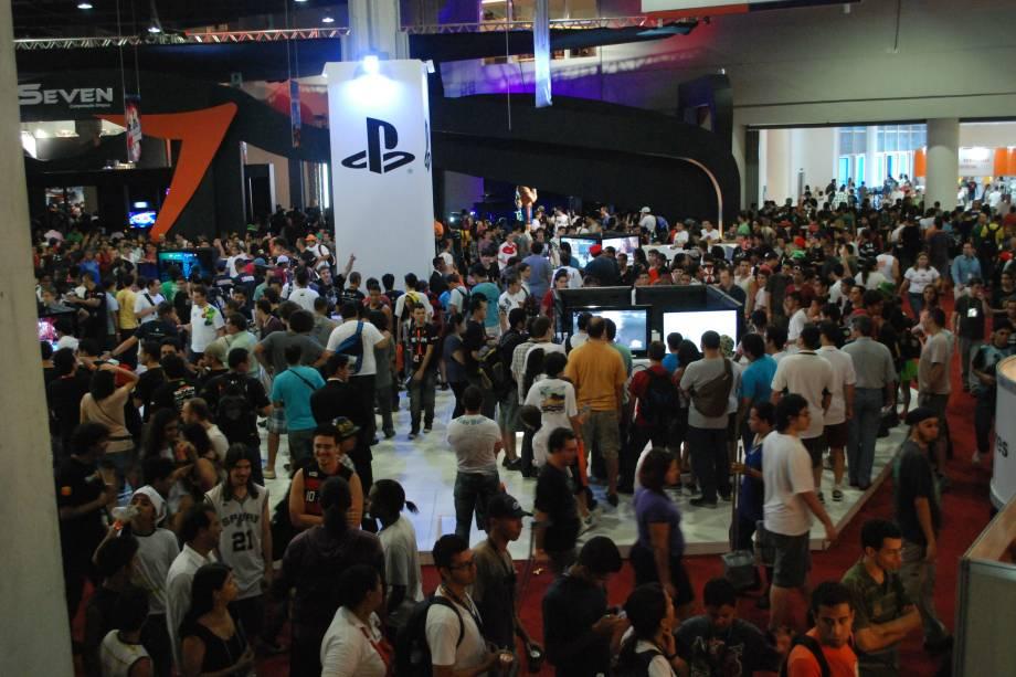 Barsil Game Show, a maior feira de games da América Latina.