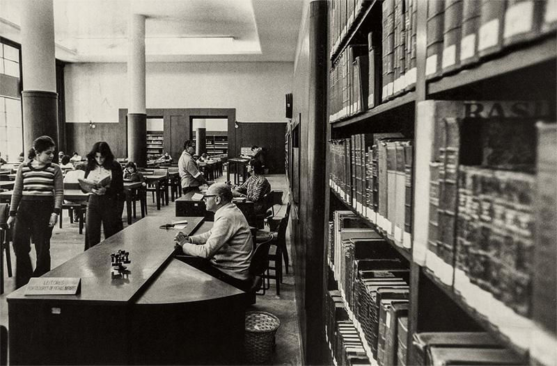 Imagem de arquivo da biblioteca