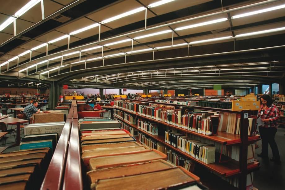 A Biblioteca Sergio Milliet: 100 000 volumes