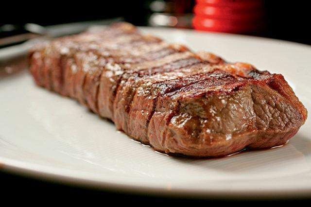 Bife de chorizo: uma das opções da NB Steak