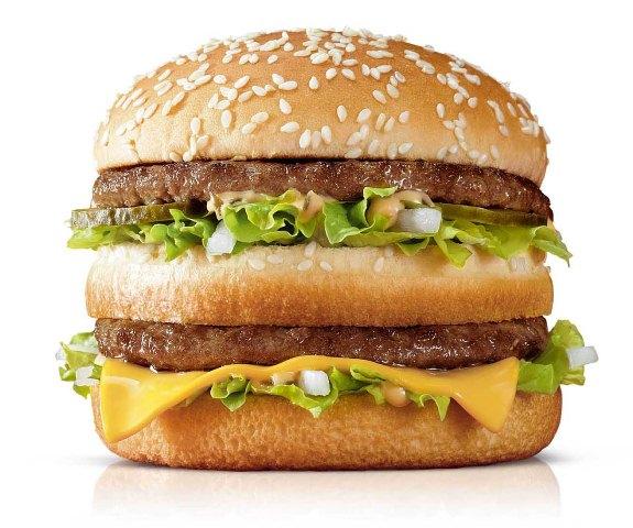 Big Mac, sanduíche da lanchonete McDonalds