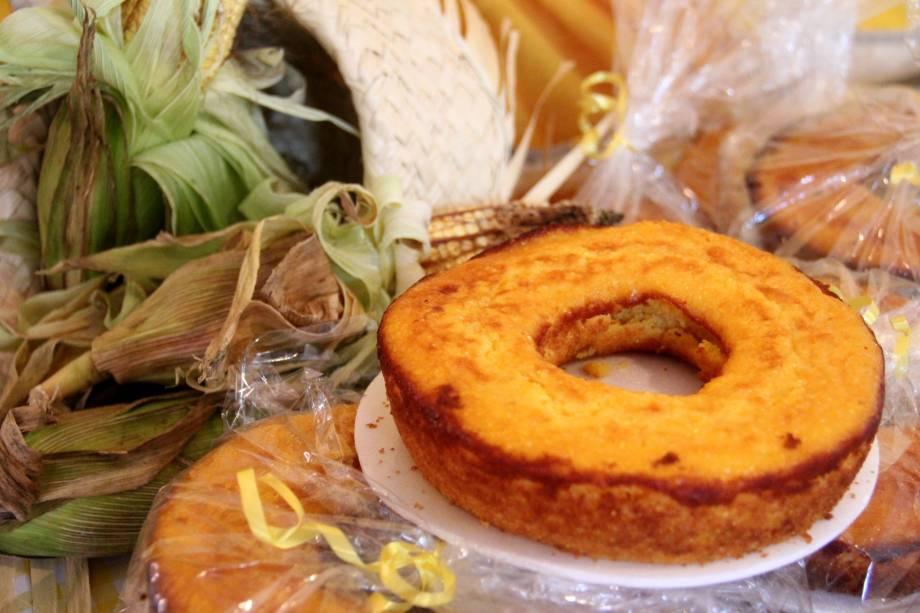 Festa do Milho Verde: os bolos feitos com o ingrediente também estão entre as guloseimas