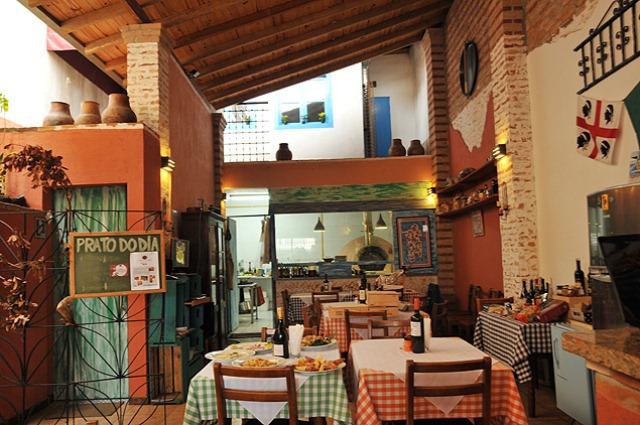 Bottarga Ristorante: casa é comandada pelo chef Marco Murgia