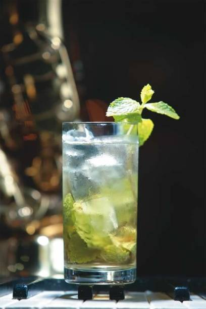 Mint julep, do Bourbon Street
