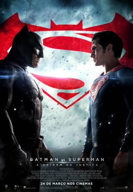 Pôster de Batman vs Superman - A Origem da Justiça