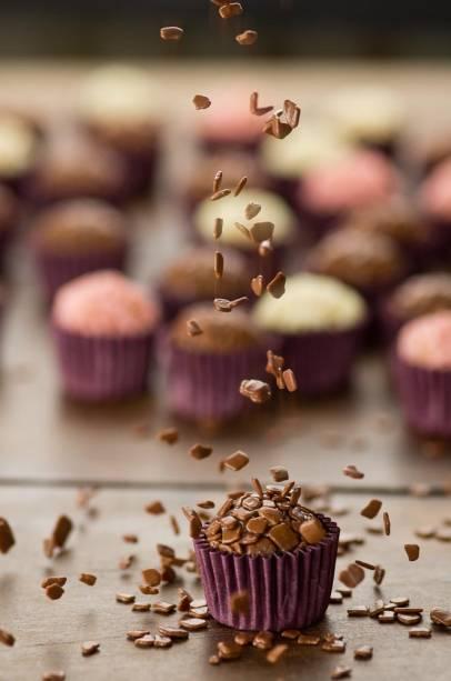 Brigadeiros by Cousins: docinhos feitos com chocolate importado