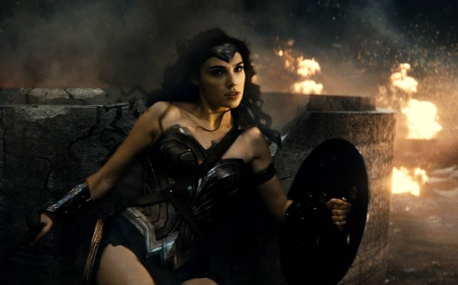 Batman vs Superman - A Origem da Justiça: a atriz Gal Gadot vive a Mulher Marvilha