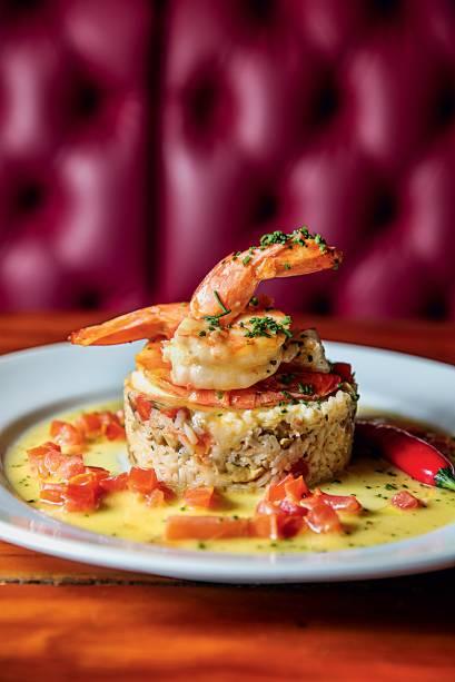 Pratos com nomes de famosos: camarão à bruno gagliasso