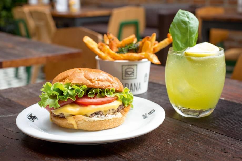 Hambúrguer do Cabana Burger