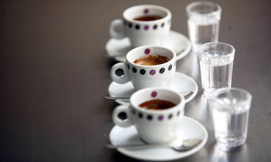 Café expresso da cafeteria Suplicy Cafés Especiais