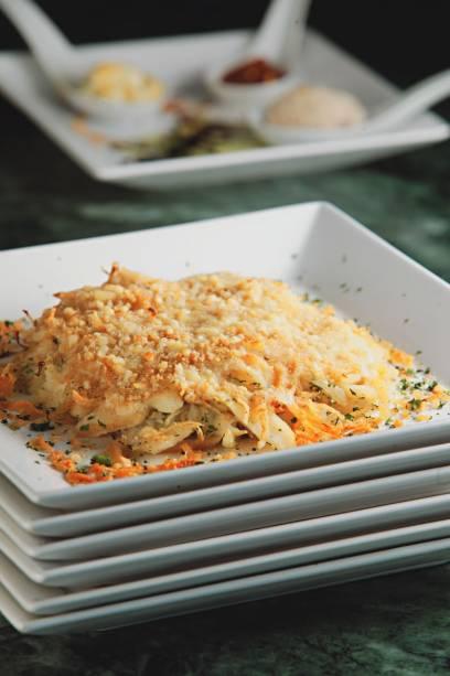 Bacalhau às natas: no menu do Bistro Faria Lima