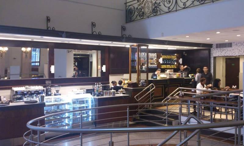 Ambiente da cafeteria