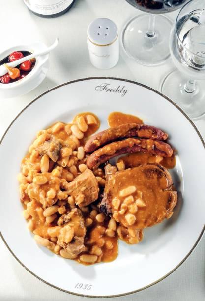 Cassoulet: carne de cordeiro e lombo de porco