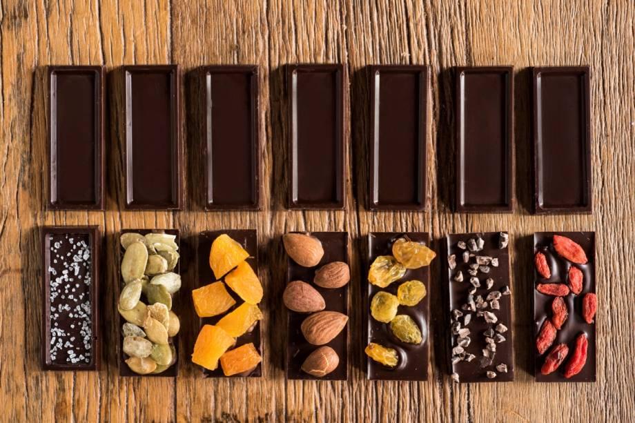 Cau Equilíbrio: barras com frutas, amêndoas e sementes