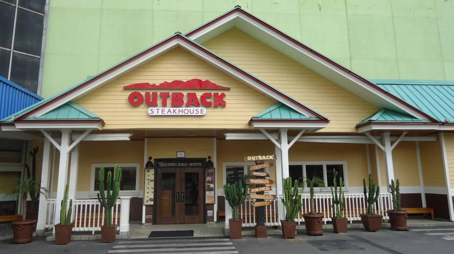 Unidade do Outback é a unidade de maior participação mundial (são mais de mil restaurantes no mundo).