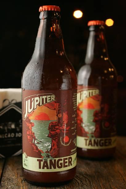 Júpiter Tânger: cerveja paulistana de trigo aromatizada com casca de tangerina
