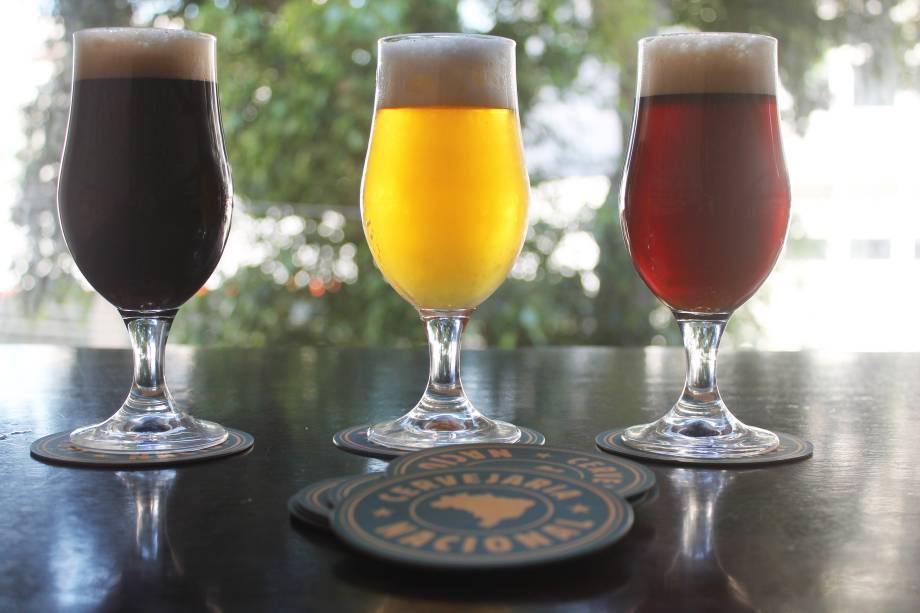 Cervejaria Nacional: os chopes saravá, esquentadinha e pé de bode