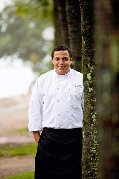 Chef Eudes Assis: convidado a assinar o cardápio exclusivo do dia