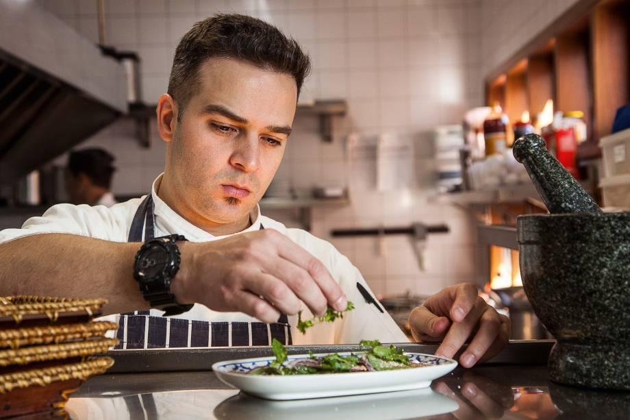 Maurício Santi, o novo chef do Obá Mamuang Thai House