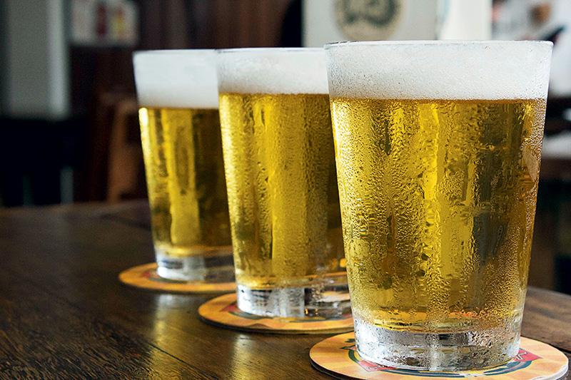 Metade do preço: o copo de 330 mililitros do pilsen Bad Moose vai custar R$ 4,50