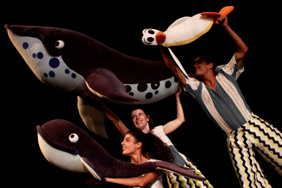 Círculo das Baleias: peça segue em cartaz até o dia 27 de julho