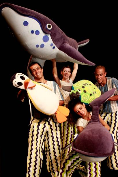 Círculo das Baleias: a trilha sonora do espetáculo é assinada por Gustavo Bernardo