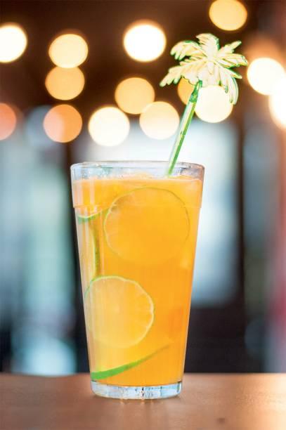 Citric bombay: tangerina, limões e gim