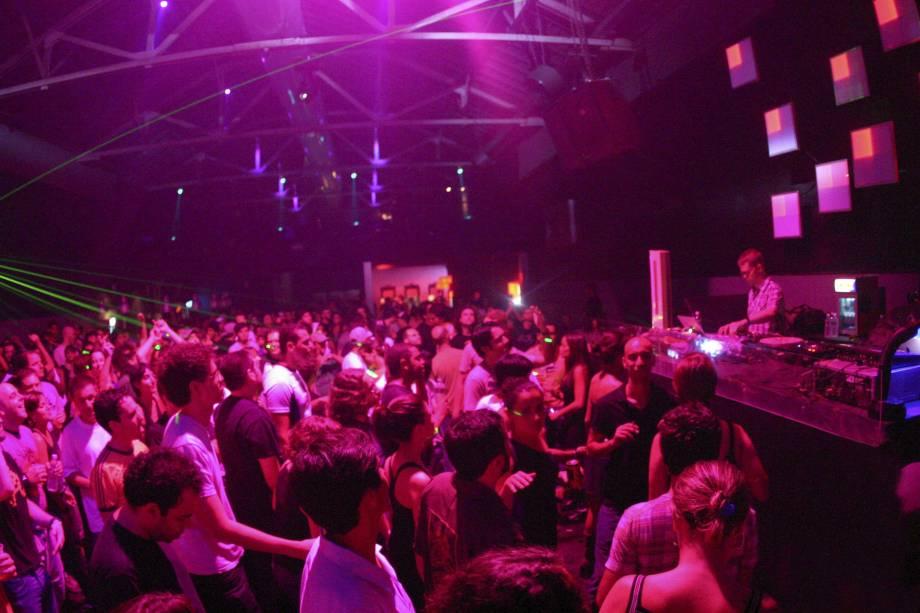 Pista de dança do Clash Club, na Barra Funda