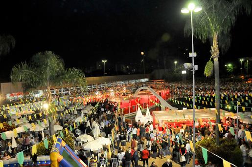 O Clube Sírio realiza sua festa junina nos dias 22 e 23 de junho