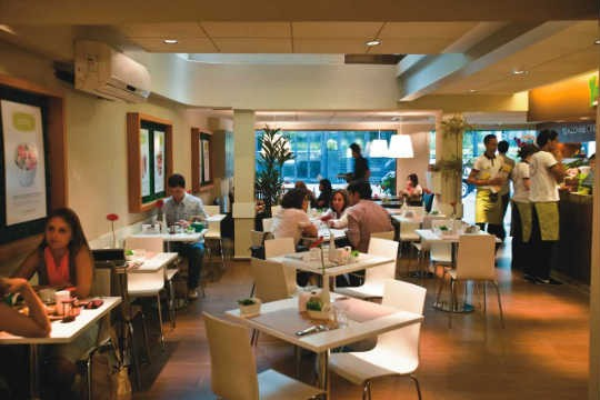 Salão do Tea Connection: boas sugestões do café da manhã ao jantar