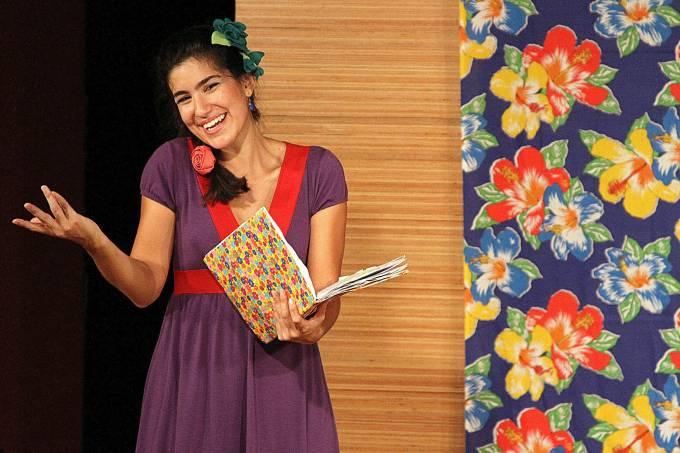 Contação de histórias na Casa das Rosas – Marina Bastos – Foto de Bruno Portes