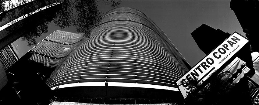 Detalhe do Edifício Copan